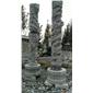 石雕龙柱盘龙柱华表文化柱浮雕青石花岗岩汉白玉柱子