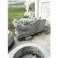 厂家石雕喷水龙头吐水龙头墙壁喷泉天然青石仿古石雕