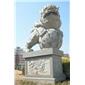 绣球石狮子北京石狮子镇宅辟邪石麒麟石大象石貔貅雄狮青石仿古雕塑