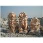 雄狮石狮子石雕狮子北京狮子南方狮子镇宅辟邪青石仿古石雕