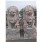 厂家动物雕塑石狮子镇宅辟邪石麒麟石大象石貔貅青石仿古雕塑