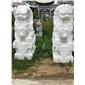 南方石狮子北京石狮子镇宅辟邪石雕石狮子雄狮跑狮青石仿古雕塑