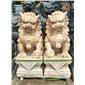 北京狮子南方狮子石狮子石雕狮子门口狮子镇宅辟邪青石仿古雕塑雄狮