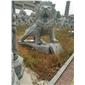 专业石狮子石雕狮子镇宅辟邪南方狮子北京狮子雄狮跑狮青石仿古雕塑