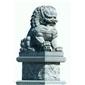 雕塑之乡石雕狮子石狮子南方狮子北京狮子青石仿古雄狮跑狮镇宅辟邪