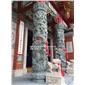 寺庙龙柱厂家 加工石材龙柱 惠安龙柱