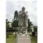 石雕孔子 校園孔圣人石像 石材人物雕刻