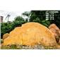 青岛 英德石场直供天然景观黄蜡石 纪念刻字黄蜡石 招牌刻字风景石