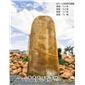 苏州 英德石场直供天然景观黄蜡石 纪念刻字黄蜡石 大型招牌刻字风景石