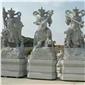 石雕佛像 汉白玉观音菩萨 石雕四大金刚