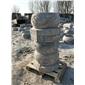 异形柱墩柱顶石柱础青石仿古浮雕样式定做