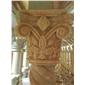 玉石罗马柱