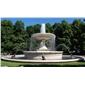 黄锈石喷泉 石雕喷水池 供应园林雕刻,动物 人物石雕 喷水池 花钵栏杆 花岗岩石材雕塑