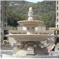 供应石雕喷水池 石喷泉 石花盆