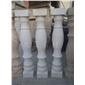 白砂巖花瓶柱