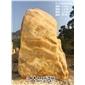 英德石场直供天然景观黄蜡石 纪念刻字黄蜡石 招牌刻字风景石