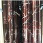 紫罗红线条大理石门套 专业电梯套定做 异型线条 窗套