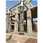 龙凤柱罗马柱 文化柱 石柱 景观柱 门柱 实心柱