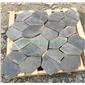 黑板岩蜂窝形拼接贴