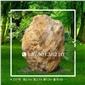 347号│黑龙江大型黄蜡石哈尔滨刻字石大型景观石、奠基石、风景石