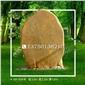 A8-004号│西安大型黄蜡石、陕西刻字石、大型景观石、奠基石、风景石