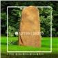 景盛-313号黄蜡石产地直销 黄色景观石 自然石雕 刻字石 公园观赏石 英德大型黄蜡石 招牌刻字石