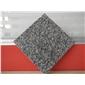 小铁灰石材灰色石头芝麻灰花岗岩毛光板