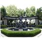 酒店女神石雕塑