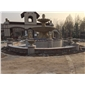 黄金麻.石岛红广场喷泉水池