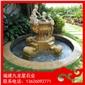 西方人物雕塑喷泉 庭院水钵