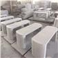 麻城芝麻白-加工面板异型干挂板-石椅