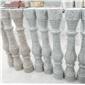 麻城芝麻白-加工面板异型干挂板-栏杆