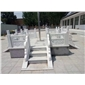 汉白玉 旗台栏板浮雕工程案例