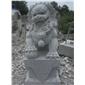 青石石獅雕刻