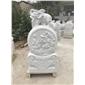 汉白玉石象雕刻