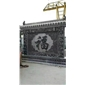 青石福字壁画