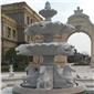 青石雕刻喷泉