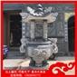 石头香炉 寺院供佛的香炉