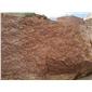 帝王红石材荒料、光泽红荒料石材、高原红荒料石材