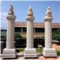 罗马柱々石雕