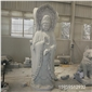 三面觀音菩薩佛像石頭雕塑,石雕三面觀音