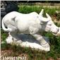 石雕动物牛