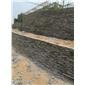 砌墙石垒墙石水幕墙景观幕墙流水墙石料挡土墙料石乱型石