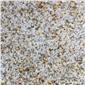 水頭工廠供應黃金麻黃銹石荔枝面河南花崗巖黃色石頭地鋪石路沿石家裝石石材銹石秀石繡石