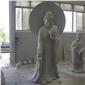 菩萨石雕雕塑