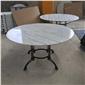 天然大理石板 白色圓形大理石板 大理石桌 廠家直銷批發