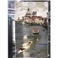 水刀拼花、威尼斯、威尼斯拼图、雕刻、精雕、数控雕刻、威尼斯拼花