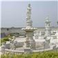 山門牌坊涼亭噴泉石雕,石雕涼亭,石頭涼亭,涼亭 ,石雕噴泉,噴泉