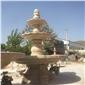 山门牌坊凉亭喷泉石雕,石雕喷泉,喷泉
