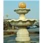 山门牌坊凉亭喷泉石雕,大理石喷泉, 石雕喷泉